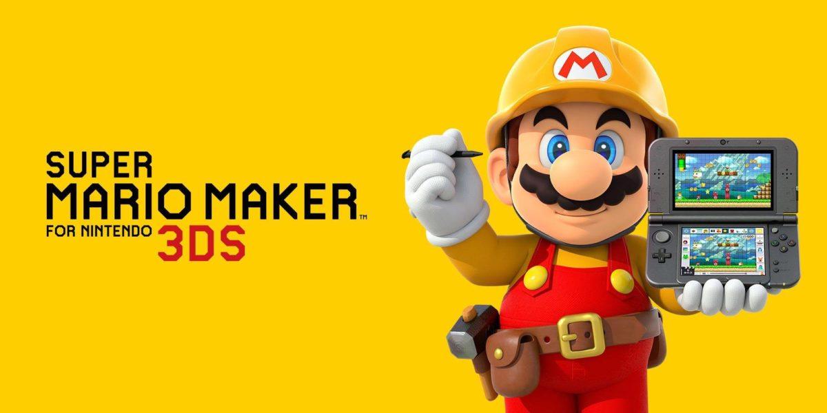 Super Mario Maker wyjdzie na 3DSa