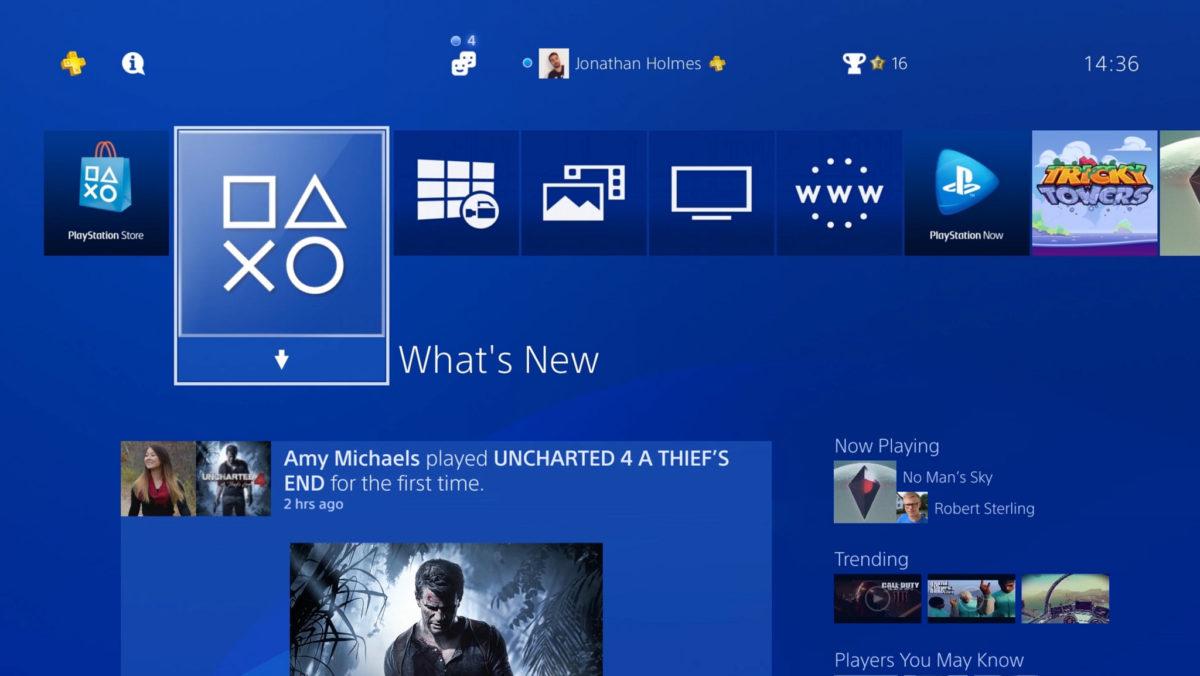 Aktualizacja oprogramowania Playstation 4
