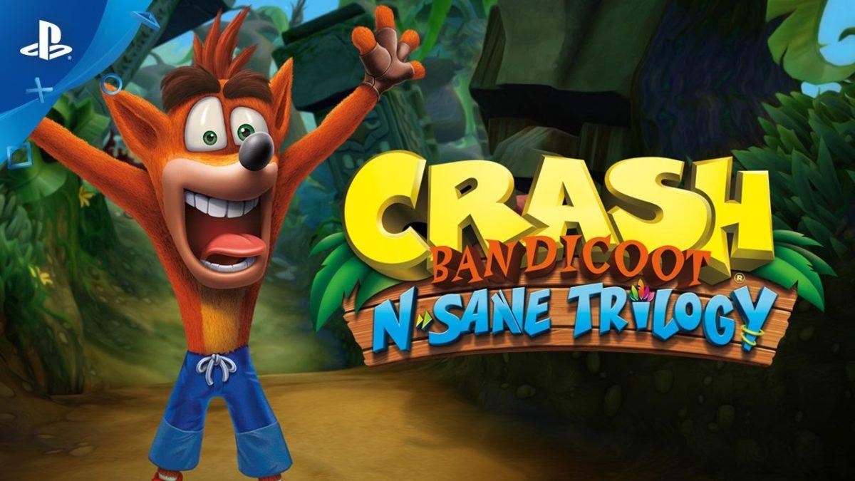 Pierwsze materiały z Crash Bandicoot: N. Sane Trilogy