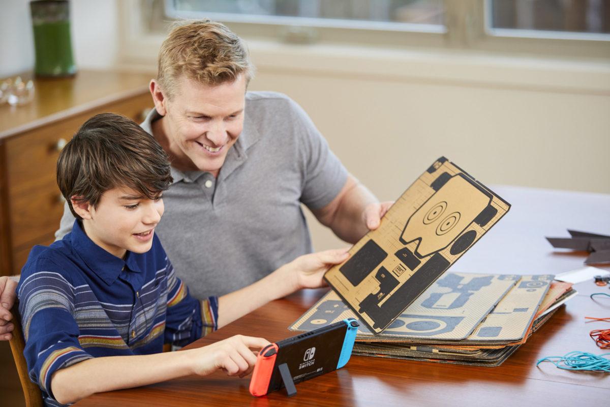 Nintendo Labo: wzory kartonów nie trafią do internetu