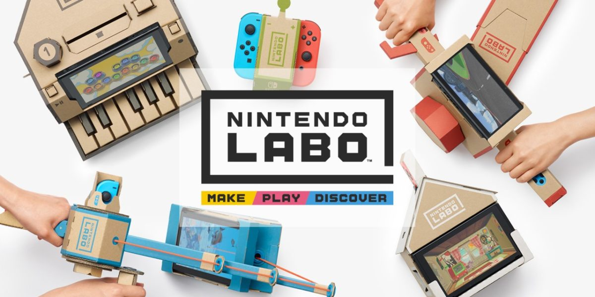 Nintendo Labo – kartonowe akcesoria dla Switcha