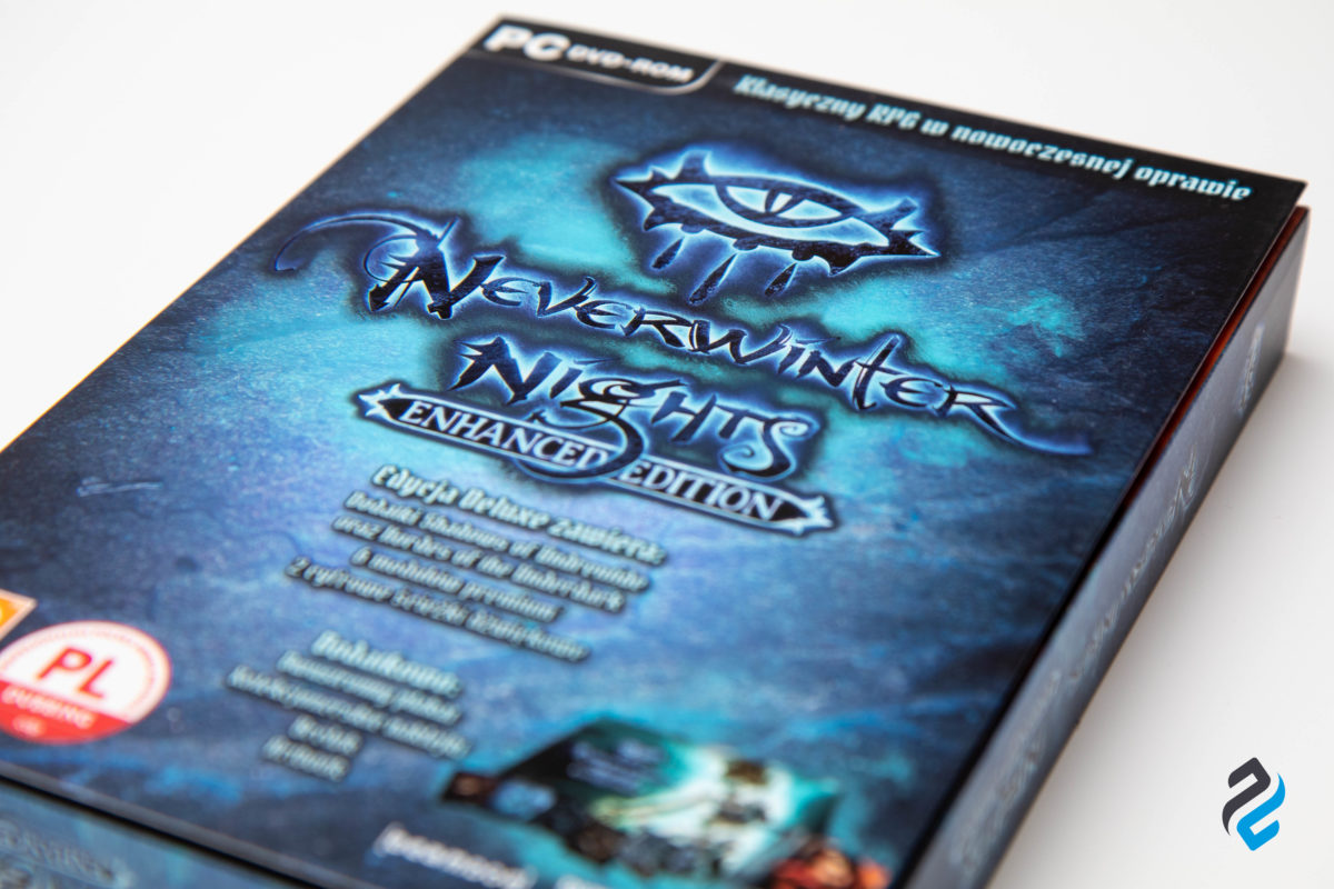Neverwinter Nights: Enhanced Edition wydane w pudełku